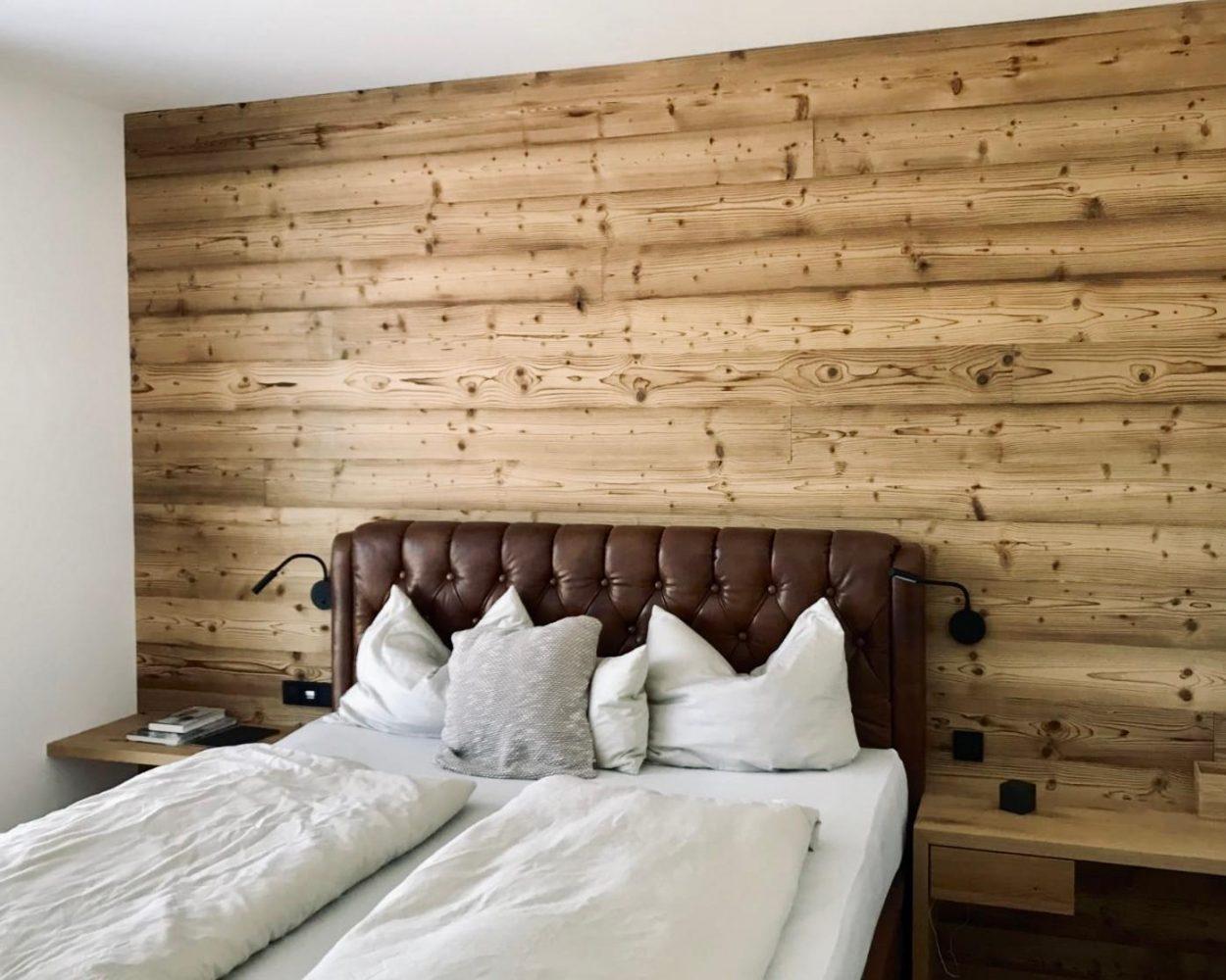 Privathaus - Schlafzimmer mit Naturholz
