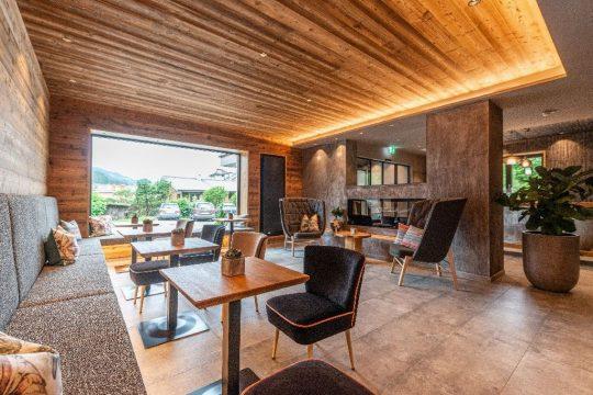 Boutiquehotel Stadtvilla - moderner Sitzbereich