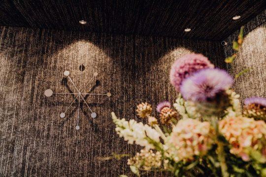 Kreative Wandgestaltung im Boutiquehotel Stadtvilla Schladming