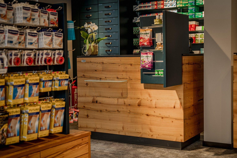 Verkaufstresen Apotheke Planai-West Schladming