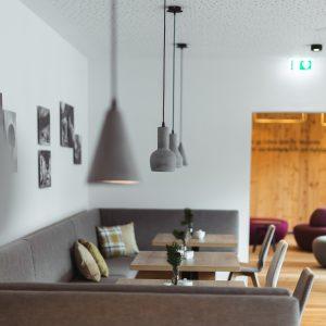 Aparthotel Ursprung - Impressionen aus dem Frühstücksraum