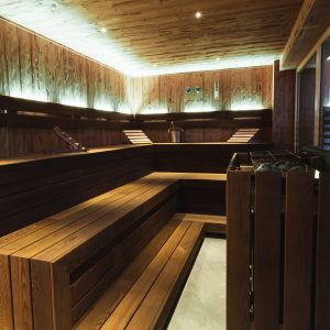 Sauna im Aparthotel Ursprung, Schladming